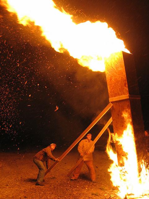 Incendie de cheminée