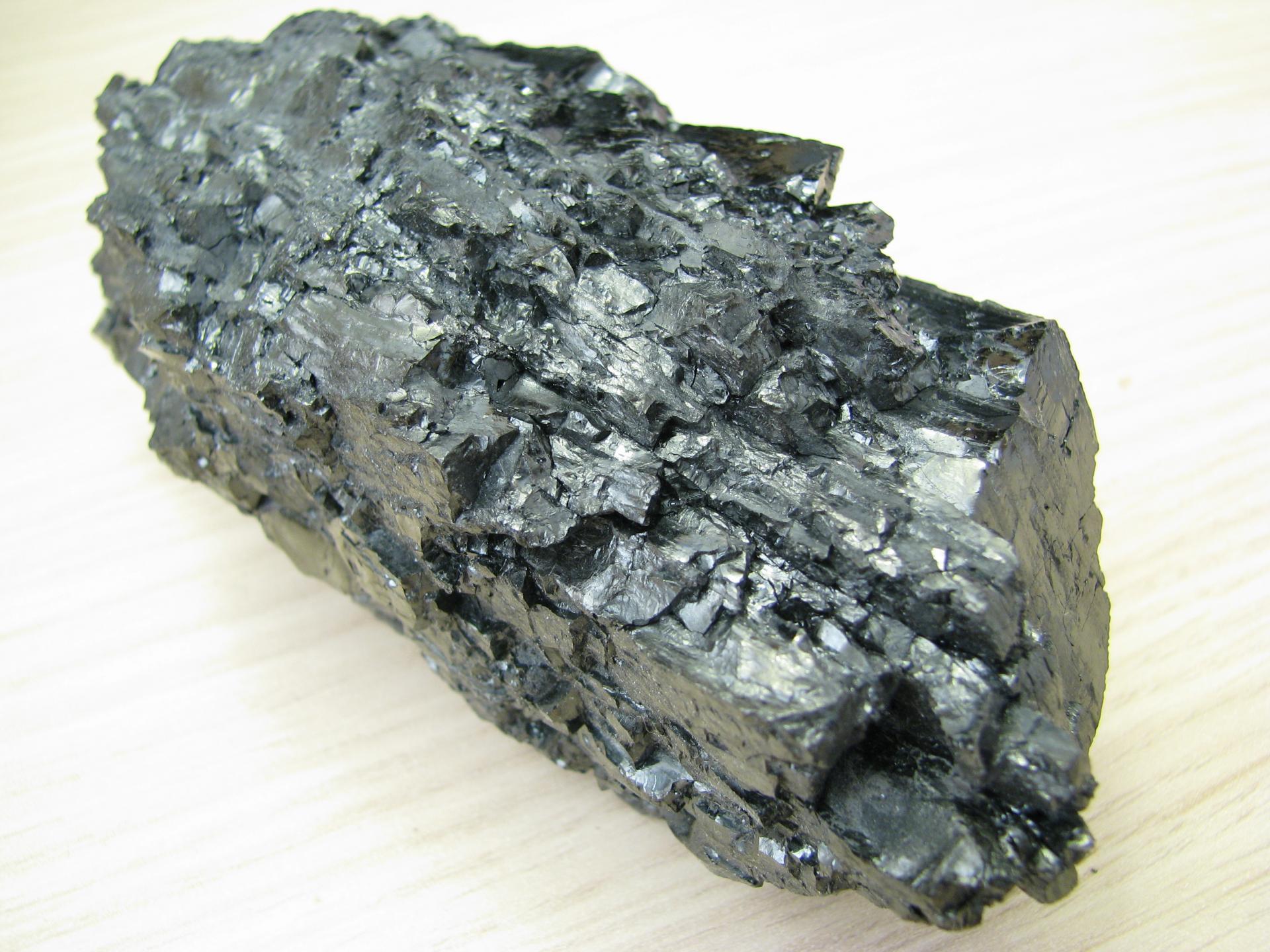 Anthracite : charbon à faible taux de matières volatiles